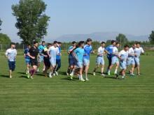 Los lojeños han estado entrenando durante la pasada semana en Granada.
