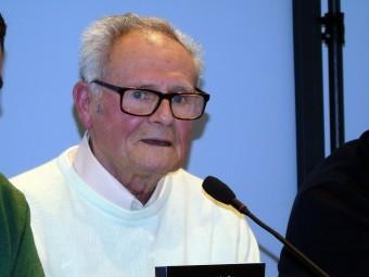 Andrés Ortiz durante la presentación de su nueva publicación. FOTO: CALMA.