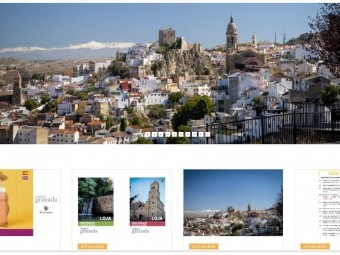 Nueva imagen que ofrece la página web de Loja Turismo. FOTO: EL CORTO