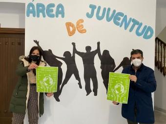 Valenzuela y Camacho, en el anuncio de la campaña medioambiental. FOTO: C. M.