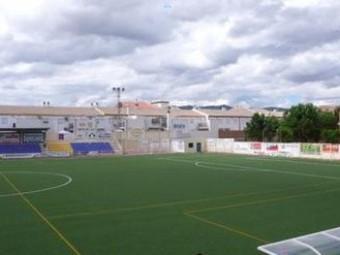 Estadio Municipal Miguel Moranto de Huétor Tájar, sede del torneo