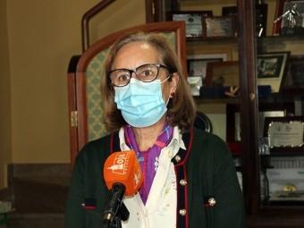 La concejala de Bienestar Social, Matilde Ortiz, en rueda de prensa. FOTO: CALMA