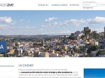 Loja aparece como destino turístico en la nueva web de la Red Ciudades AVE. FOTO: RCA