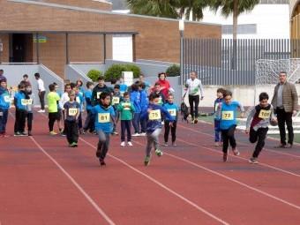 Un momento de la competición de atletismo en la jornada del pasado viernes. FOTO: P.C.