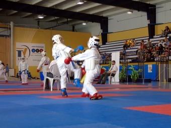 Un momento de la competición celebrada el pasado domingo en Loja. FOTO: C. MOLINA