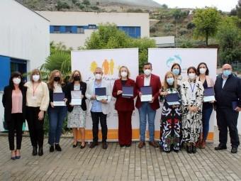 Colectivos a los que se les ha reconocido su labor en la pandemia. FOTO: PAULA