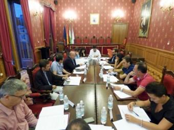 Imagen de archivo de una reunión del Consejo Municipal de Mayores.