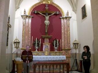 A través de los medios locales se pudieron seguir los actos litúrgicos. FOTO: EL CORTO