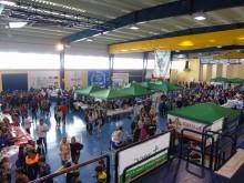 Imagen general de IV 'Loja en Salud', en el pabellón de deportes. FOTO: C. MOLINA
