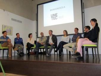 Miembros de las empresas técnicas que conforman UNETEC durante la presentación del proyecto.