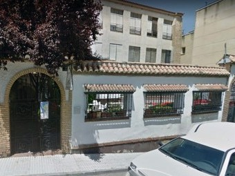 La peña flamenca Alcazaba reabre al público el patio de su sede. FOTO: G. MAPS