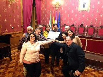 Obradores, Ayuntamiento y ALCI se han unido para registrar la marca Roscos de Loja. J. ÁGUILA