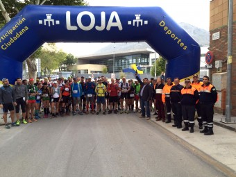 Los participantes se disponen a tomar la salida en la edición del pasado año.