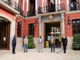 Visita del PP de Granada al Ayuntamiento de Loja