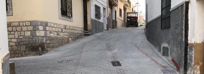Las obras de la Cuesta de La Almona ya han concluido, tras una inversión de 120.000 euros