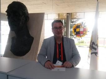 Manolo Écija, vicepresidente del Loja y representante de la Comisión de clubes granadinos