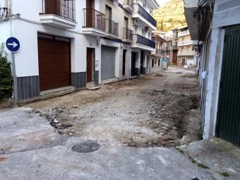 Obras en la Huerta Gálvez. FOTO: A. MATAS.
