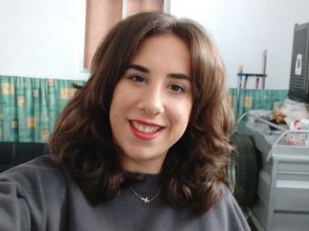 Desireé Romero, trabajadora de la residencia de la Misericordia. FOTO: C. M.