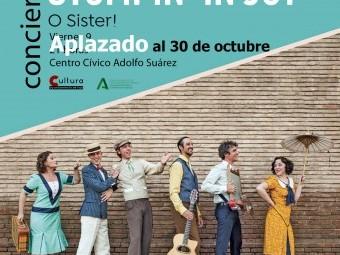 El sexteto musical O Sister! vendrá a Loja con su concierto Stopin' in joy el 30 de octubre