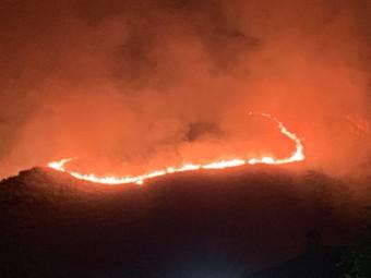 Dimensiones del incendio de Ventorros de Balerma