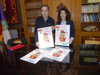 Izquierdo y Gallego, en la presentación del evento gastronómico. FOTO: CALMA