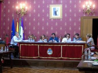 El Pleno de la Corporación aprobó la ayuda económica a la ALCI. FOTO: CALMA