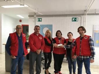 Voluntarios de Cruz Roja Loja.