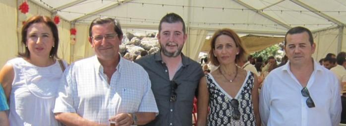 Sandra García, José Entrena, Juan Cobos, María José Mateos y Miguel Castellano