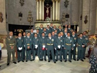 Imagen de archivo de un acto de la Guardia Civil de Loja en el Día de su Patrona.