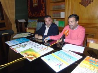 Alcalde y concejal de Salud durante la presentación de la Semana de la Salud. FOTO: CALMA