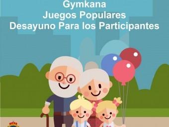 Cartel anunciador del Día de los Abuelos que se celebra el 26 de julio. FOTO:EL CORTO
