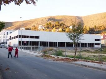 Estado actual de las obras del Centro Deportivo Urbano, que se podrían finalizar gracias a los fondo