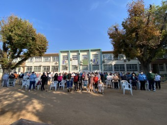 Las personas mayores de Loja celebraron su día el pasado 1 de octubre. FOTO: A. M.