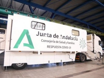 Loja estrenará las unidades móviles de cribado masivos de la Junta. FOTO: EL CORTO