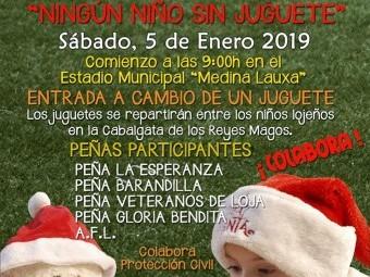 Cartel del evento, que tendrá lugar este sábado en el Medina Lauxa