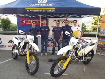 Integrantes del Mata Racing MX Andalucía de Enduro