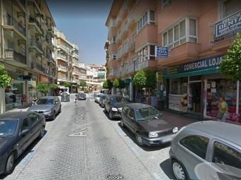 La avenida de los Ángeles, eje comercial de la ciudad. FOTO: EL CORTO