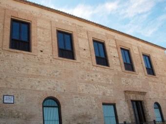 Fachada principal del Museo Histórico de la Alcazaba. FOTO: EL CORTO