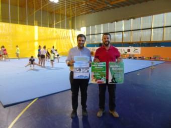 El concejal de Deportes y el alcalde presentaron el nuevo curso