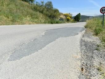 Tramo de la carretera de Ventorros de San José donde se actuará. FOTO: EL CORTO