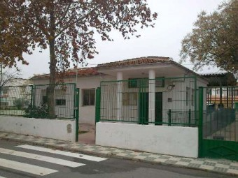 Colegio público rural Taxara de la pedanía lojeña de La Fábrica.