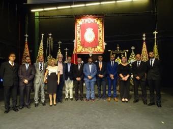 Nueva Junta Directiva de la Agrupación de Hermandades y Cofradías. FOTO: J. AGUILA