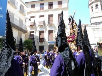 Una de las imágenes que no disfrutaremos esta Semana Santa en Loja. FOTO: EL CORTO