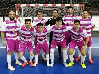 Equipo del Deportivo Loja que empató este pasado sábado en Bailén.