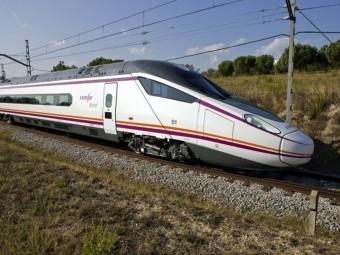 Imagen del tren Avant que tiene parada en la estación de Loja. FOTO: EL CORTO