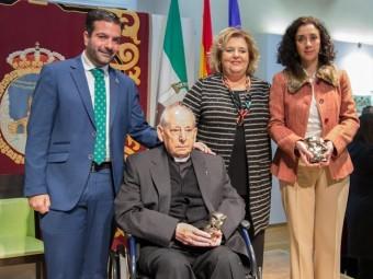 Joaquín Camacho, Luis Maqueda, Fátima Gómez y Lola Grande. FOTO: MIRAQUETEDIGA