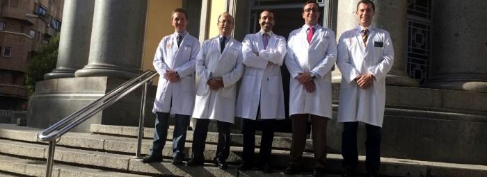 Investigadores granadinos autores del estudio.