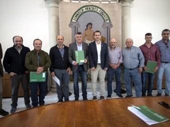 Acto de entrega de las subvenciones a los ganaderos de la provincia.