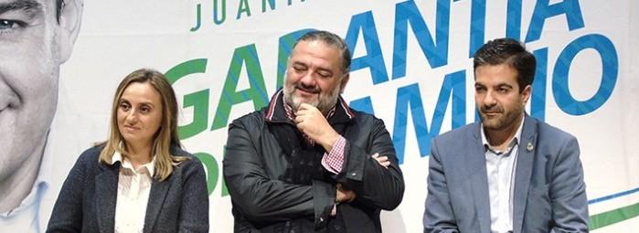 Marifrán Carazo, Pablo García y Joaquín Camacho, durante la presentación. Foto: J.MªJ.