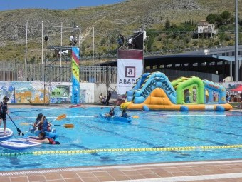 La zona de piscinas cuenta con numerosas propuestas para la máxima diversión. FOTO: P. CASTILLO
